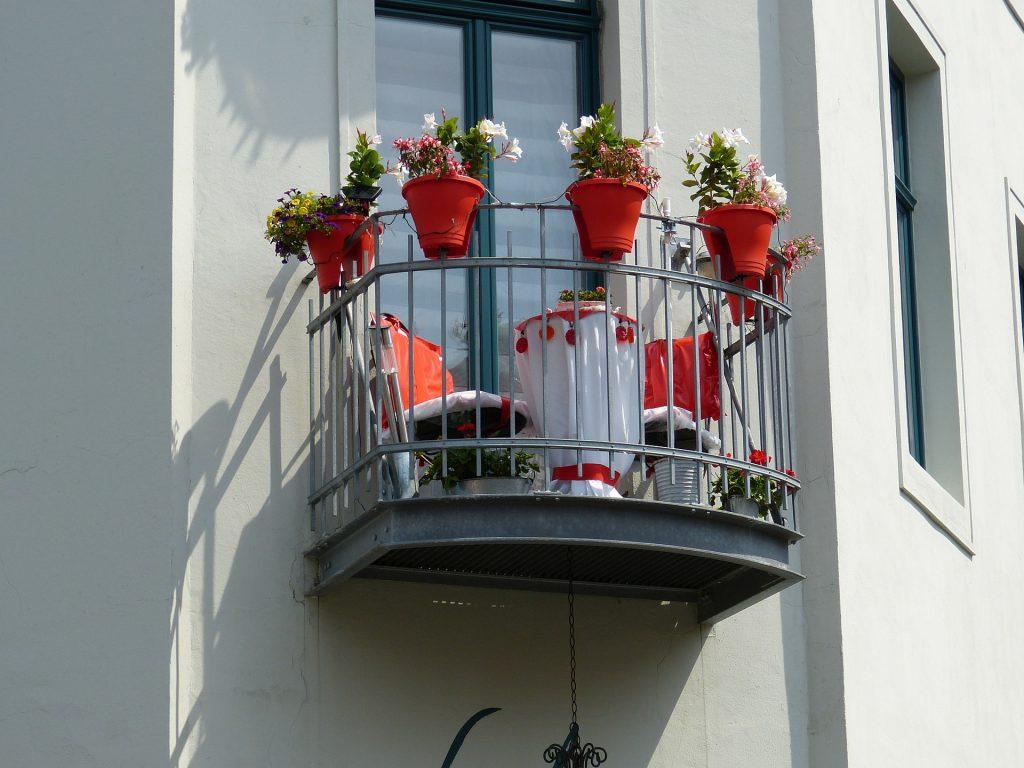 Inrichten van een klein balkon