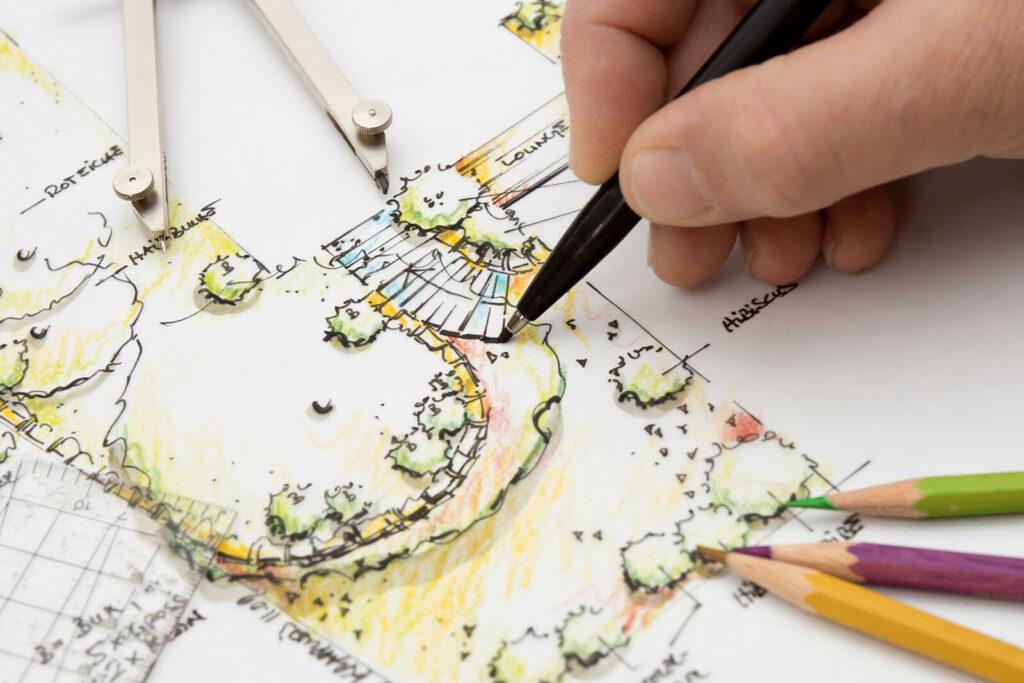 Hoe kan je zelf een tuin ontwerpen
